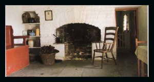 Typical inside of 1950's cottage in the Mournes.