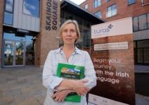 Linda Ervine, copyright Belfast Newsletter.
