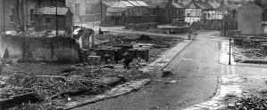 Burke Street after the Blitz